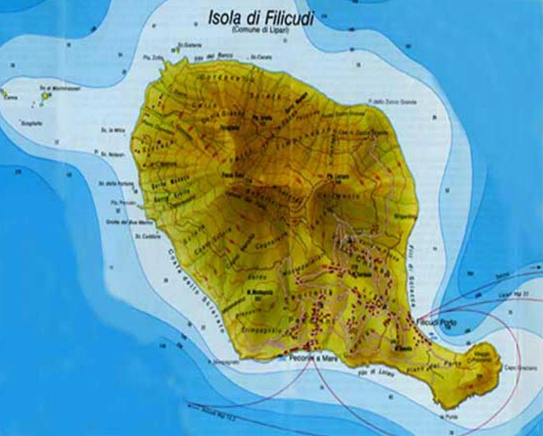 Filicudi-map